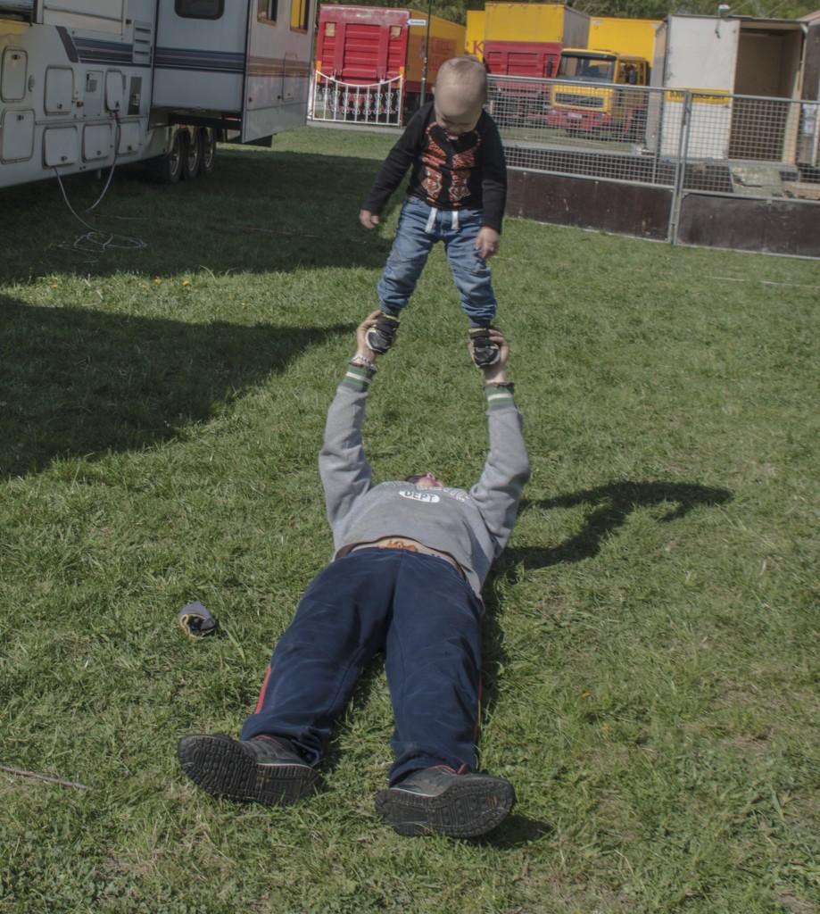 Blivande akrobat 1