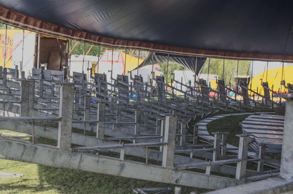 Bygga sittplatser